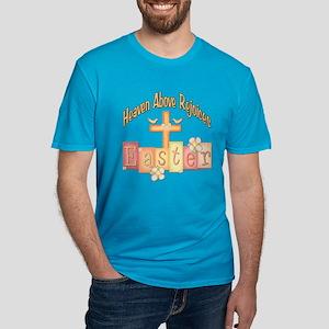 Easter Religion Men's Fitted T-Shirt (dark)