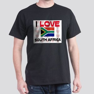 I Love South Africa Dark T-Shirt