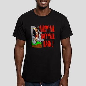 Yakety Yak Men's Fitted T-Shirt (dark)