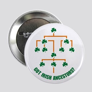 "Irish Ancestors? 2.25"" Button"