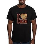 Lukas Men's Fitted T-Shirt (dark)