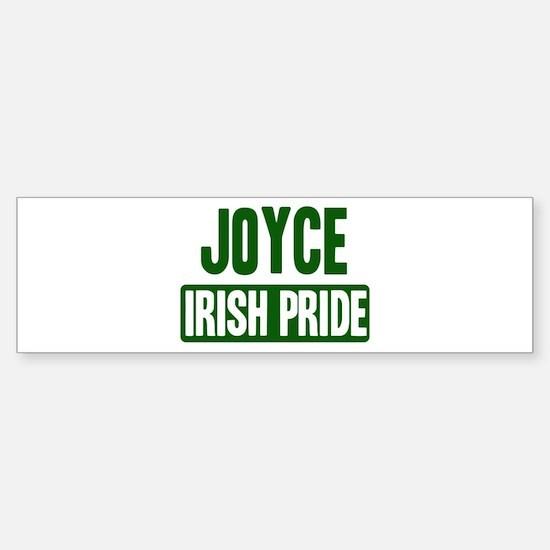 Joyce irish pride Bumper Bumper Bumper Sticker