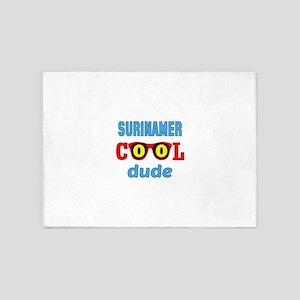 Surinamer Cool Dude 5'x7'Area Rug
