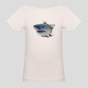 Shark Burster Organic Baby T-Shirt