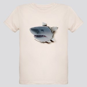 Shark Burster Organic Kids T-Shirt