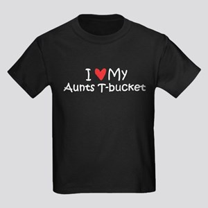 Love My Aunts T-Bucket Kids Dark T-Shirt