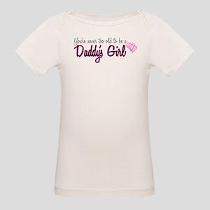 Daddy's Girl Organic Baby T-Shirt