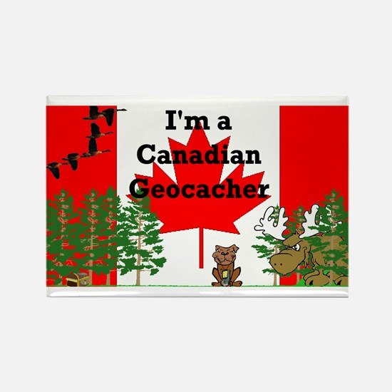 Canadian Geocaching Magnet