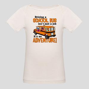 Driving a School Bus Organic Baby T-Shirt