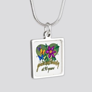 90th Birthday Grace and Beauty Necklaces