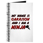 my name is garrison and i am a ninja Journal