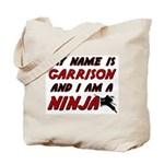 my name is garrison and i am a ninja Tote Bag