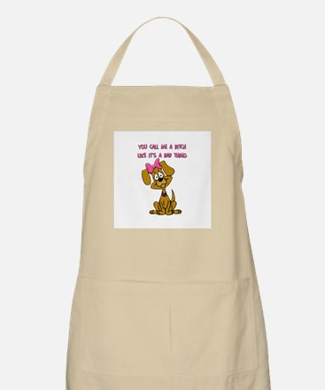 Bitch BBQ Apron