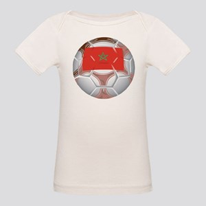Morocco Football Organic Baby T-Shirt
