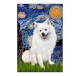 Starry / Eskimo Spitz #1 Postcards (Package of 8)