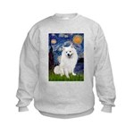 Starry / Eskimo Spitz #1 Kids Sweatshirt