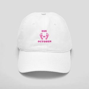 Due In October Cap (pink feet)
