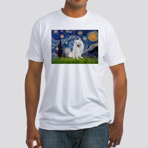 Starry / Eskimo Spitz #1 Fitted T-Shirt