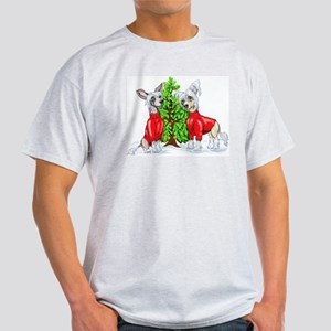 Crested Christmas Tree Light T-Shirt