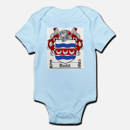 Dodd Coat of Arms Infant Creeper