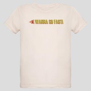 I Wanna Go Fast Organic Kids T-Shirt