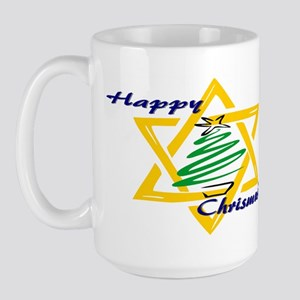 Happy Chrismukah Large Mug