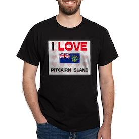 I Love Pitcairn Island T-Shirt