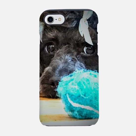Will you play ball with me??? iPhone 7 Tough Case