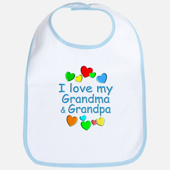 Grandma & Grandpa Bib