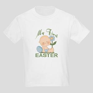 1st Easter Baby Boy Kids Light T-Shirt