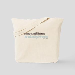 Katharine Graham Quote Tote Bag