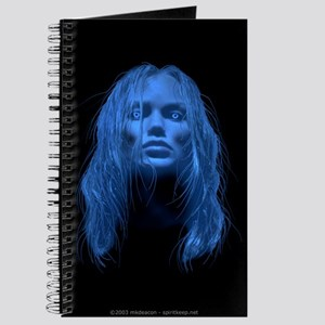 Blue Lady (no text) Journal