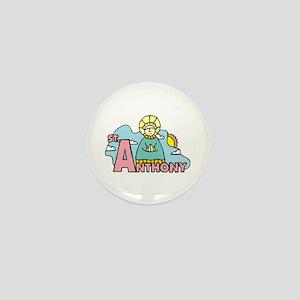 St. Anthony Mini Button