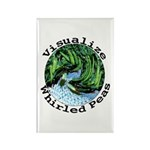 Visualize Whirled Peas Rectangle Magnet (100 pack)