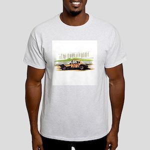 """Old Dirt!"" 707 The Big Donkey Ash Grey T-Shirt"