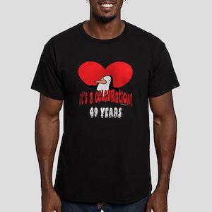 49th Celebration Men's Fitted T-Shirt (dark)