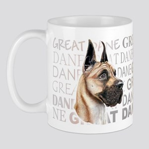 Great Dane Fawn Show Colors Mug