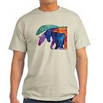 Rainbow Four Horses T-shirt natural