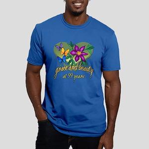 99th Birthday Grace Men's Fitted T-Shirt (dark)