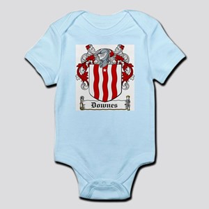 Downes Coat of Arms Infant Creeper