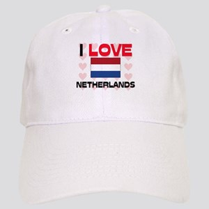 I Love Netherlands Cap