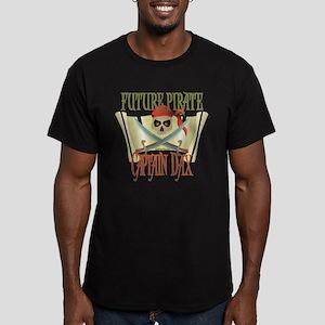 Future Pirates Men's Fitted T-Shirt (dark)