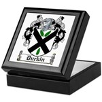 Durkin Coat of Arms Keepsake Box
