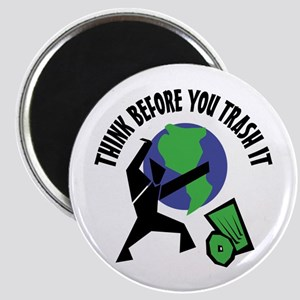 Recycle Trash Magnet