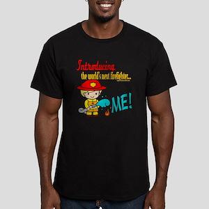 Future Fireman Men's Fitted T-Shirt (dark)