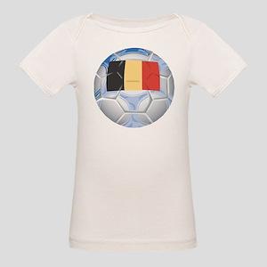 Belgium Soccer (2) Organic Baby T-Shirt
