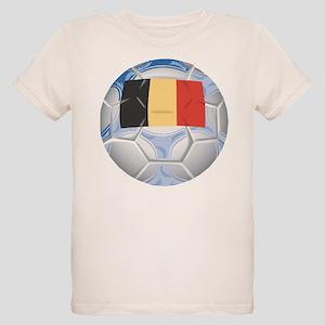 Belgium Soccer (2) Organic Kids T-Shirt