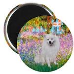 Garden / Eskimo Spitz #1 Magnet