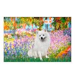 Garden / Eskimo Spitz #1 Postcards (Package of 8)