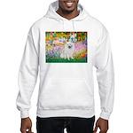 Garden / Eskimo Spitz #1 Hooded Sweatshirt